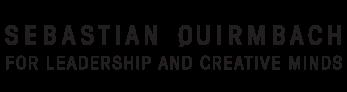 Sebastian Quirmbach – Für Leadership & Creative Minds